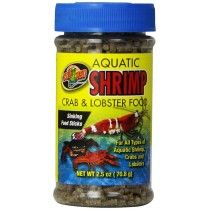 Zoo Med Laboratories Aquatic Shrimp Crab and Lobster Food