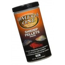 SHRIMP PELLETS 231GR OMEGA ONE PARA PECES TROPICALES