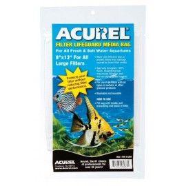 ACUREL FILTER MEDIA BAG 8X13 CORDON INCL