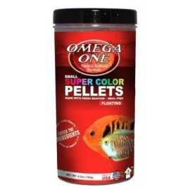 SUPER COLOR PELLETS SMALL PELLETS 184GR OMEGA ONE PECES TROPICALES