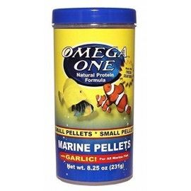 GARLIC MARINE PELLETS 231GR OMEGA ONE PARA PECES MARINOS