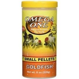 GOLDFISH PELLETS 2MM 226GR OMEGA ONE PARA PECES DE AGUA FRIA