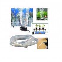 Manguera Silicona Flexible  X 1mt para Co2 y oxigenación En Acuarios