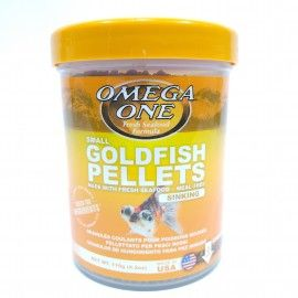 GOLDFISH PELLETS SINKING 2MM 119GR OMEGA ONE PARA PECES DE AGUA FRIA