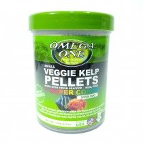 SMALL VEGGIE KELP PELLETS 2MM SINKING 119GR OMEGA ONE PECES DE FONDO