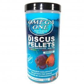 SUPER COLOR DISCUS PELLETS 2MM SINKING  226GR OMEGA ONE PARA PECES DISCO