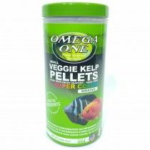 SUPER COLOR VEGGIE KELP PELLETS 226GR 2MM OMEGA ONE PECES DE FONDO