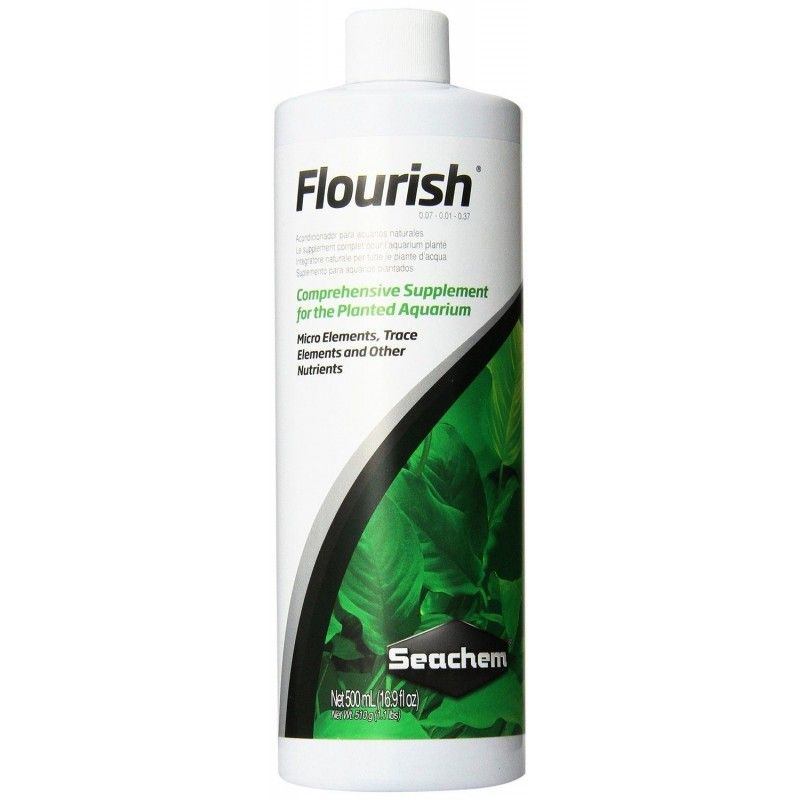 Suplemento Acuarios Plantados Flourish  500ml