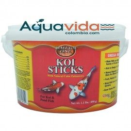 KOI STICKS 498GR OMEGA ONE PARA PECES DE AGUA FRIA