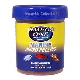 Marine Micro Pellets 100gr Omega One Para Peces Marinos