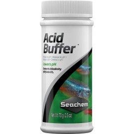 Acidificador Para Acuarios Acid Buffer 70gr Seachem