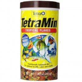 ALIMENTO TETRAMIN  200 GR PARA PECES TROPICALES