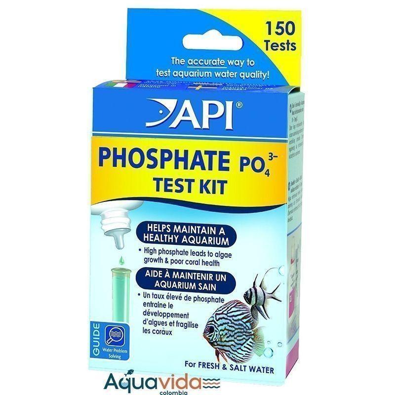 Test Fosfatos Phosphate test kit (150 Test) API