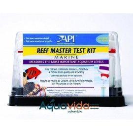 MASTER TEST KIT REEF API PARA ACUARIOS DE ARRECIDE