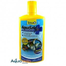 ACONDICIONADOR PARA ACUARIOS AQUASAFE PLUS TETRA 500ML  (16,9 OZ)