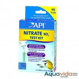 TEST NITRATE NO3  API  90 TEST PARA ACUARIOS Y ESTANQUES