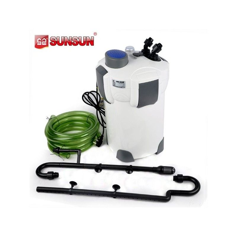 Filtro de canasta  Sunsun HW-302  1000l/h Para Acuarios