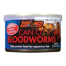 BLOODWORMS O CAN  91GR  ZOO MED PARA PECES