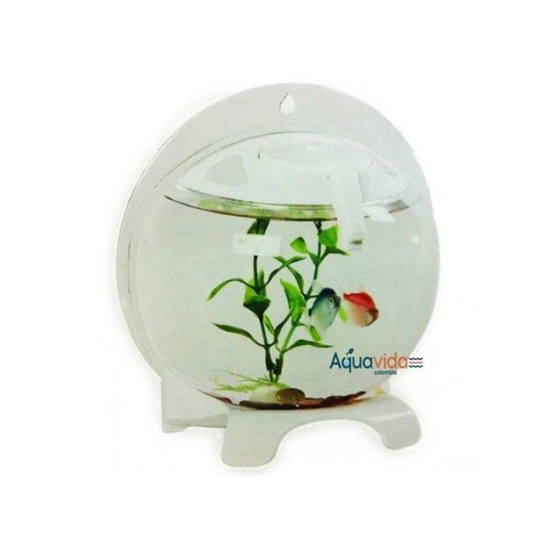 Acuario Para Bettas Importado Fa18 Aquasyncro con Luz