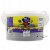 Cichlid Pellets 6mm 2 libras Omega One Para Peces Ciclidos