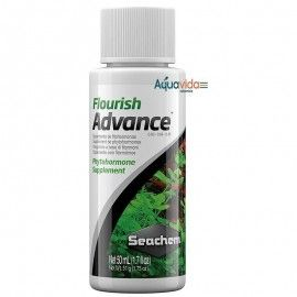 SEACHEM FLOURISH ADVANCE 50ML PARA ACUARIOS PLANTADOS
