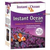 SAL INSTANT OCEAN 10 GALONES PARA ACUARIOS MARINOS