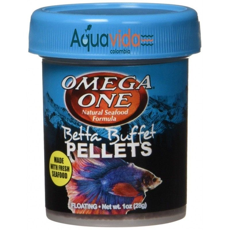 Betta Buffet Pellets 17gr
