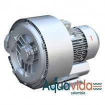 Turbina Doble Etapa 2.0 HP Aire Industrial Alta Presion 40Kpa/ 5,8psi 1 Año de Garantía Blower
