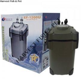 Filtro Para Acuario De Canasta Resun Ef-1200 Con Luz Uv