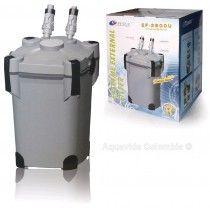 Filtro Para Acuario De Canasta Resun Ef-2800 Con Luz Uv