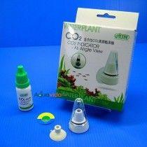 Indicador continuo de CO2 ISTA para acuarios plantados