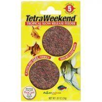 Tetra weekend 10 dias Alimento vacacional para peces de acuario
